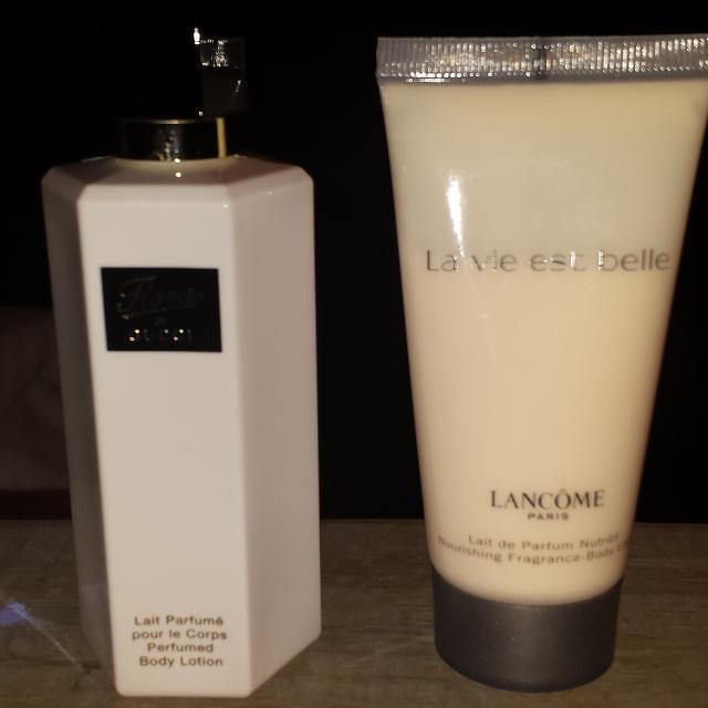 e893df46b Find more Gucci Flora And Lancome La Vie Est Belle Lotions for sale ...