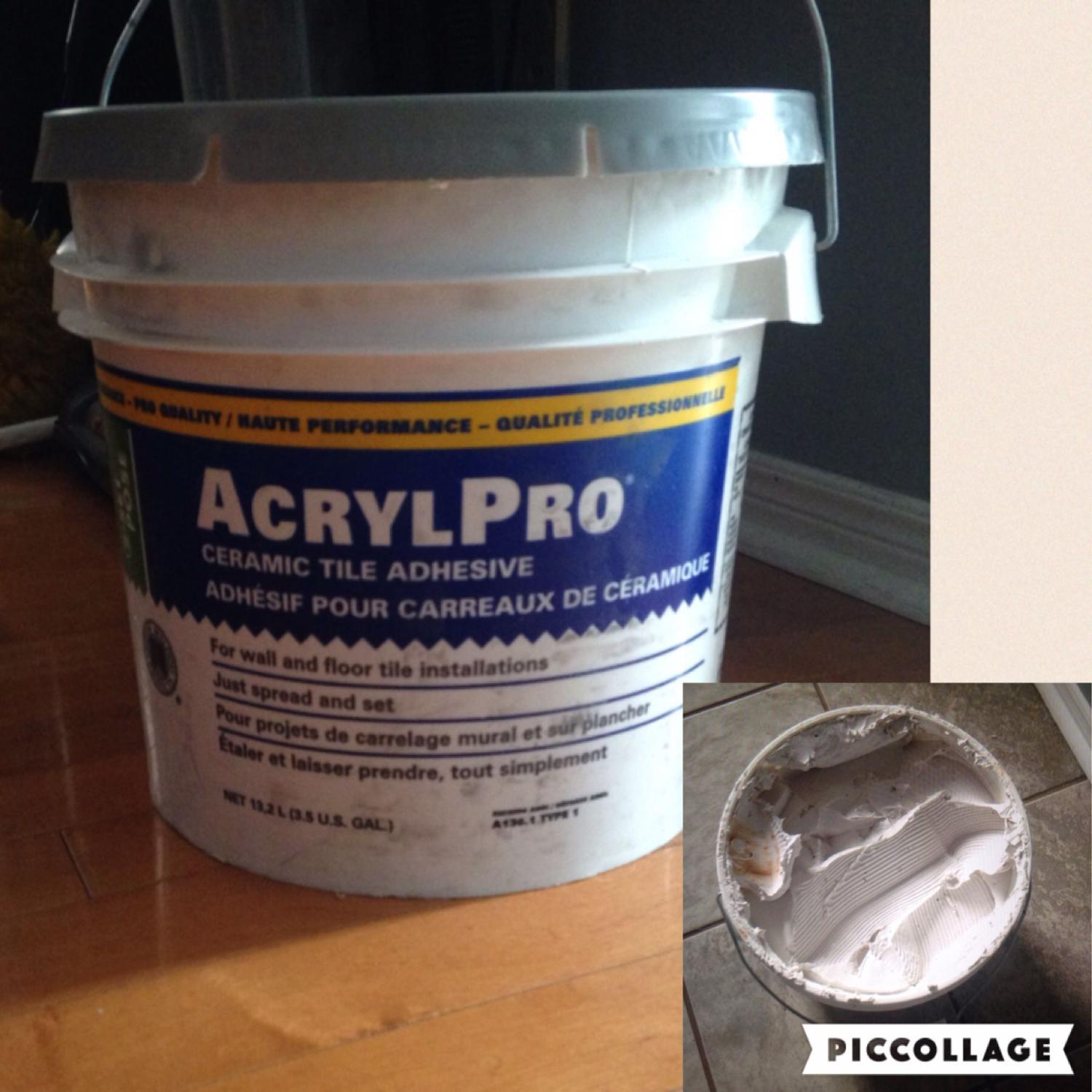 Find More Acrylpro Ceramic Tile Adhesive For Sale At Up To 90 Off