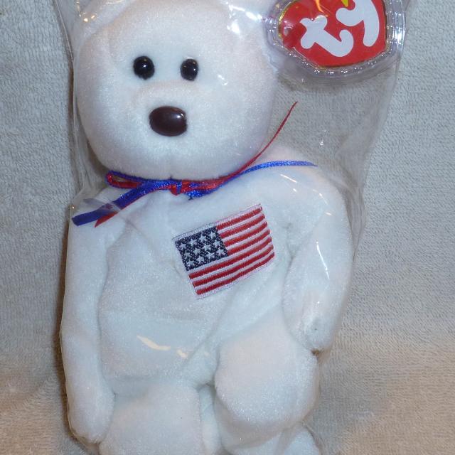 1b7a4efff58 Best Beanie Baby Original Liberty Bear Usa for sale in Boyertown ...