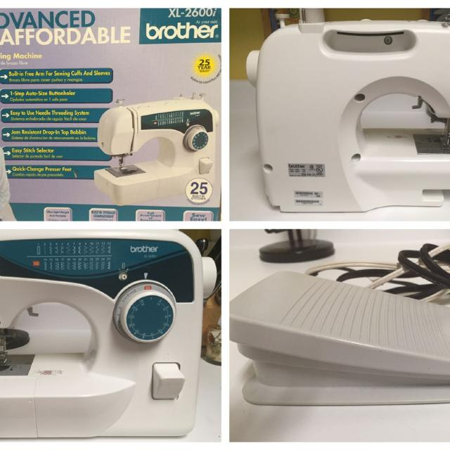 Best Brother Xl40i Sewing Machine With Pedal For Sale In Canton Mesmerizing Brother Sewing Machine 2600i
