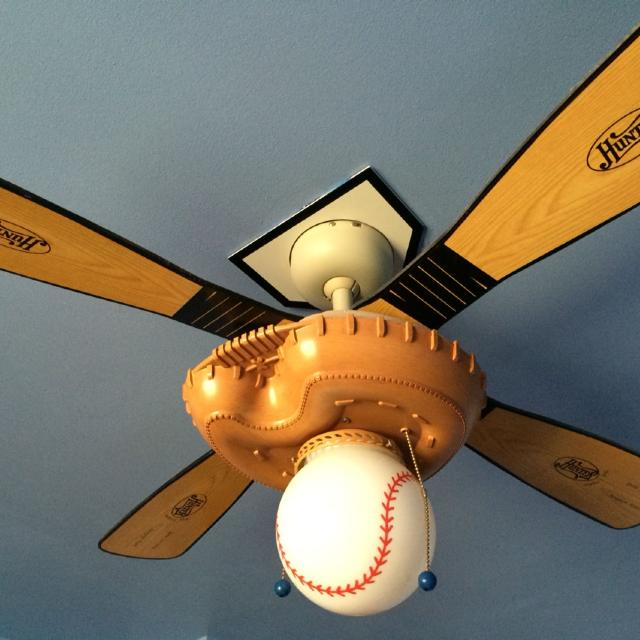 Baseball Softball Themed Ceiling Fan
