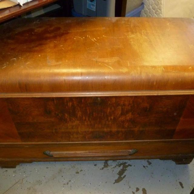Best Vintage Wooden Hope Chest For Sale In Napa Valley California