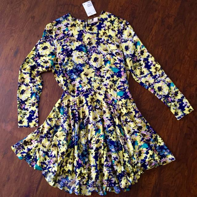 273bd4b2963bb Best H&m **brand-new** Yellow Floral Dress for sale in Cypress, Texas for  2019