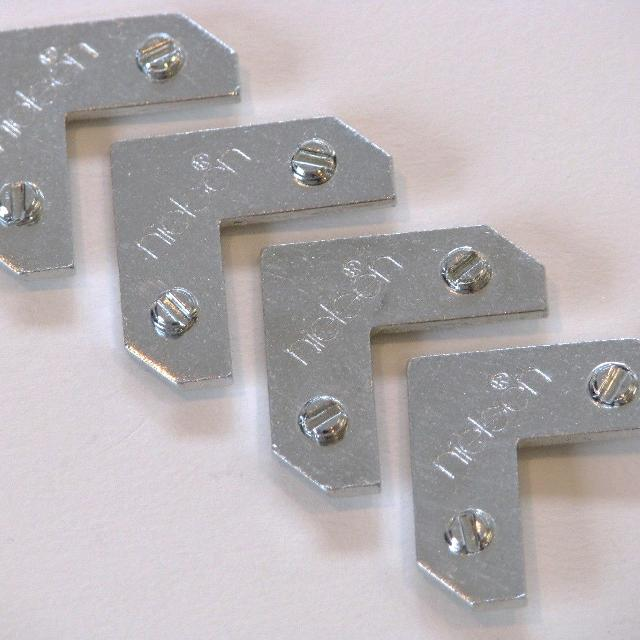 Best Metal Picture Frame Hardware, Nielsen® Tapped Threaded Angle ...