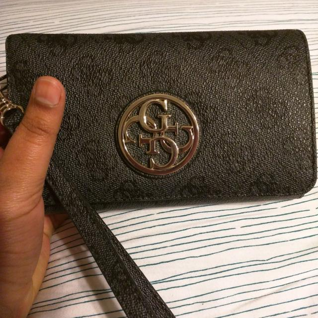 Brand New Authentic Guess Wallet Wristlet Check Comments For Inside Pictures