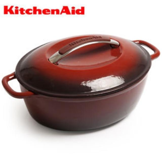 Find More Kitchenaid Cast Iron Dutch Oven In Red For Sale