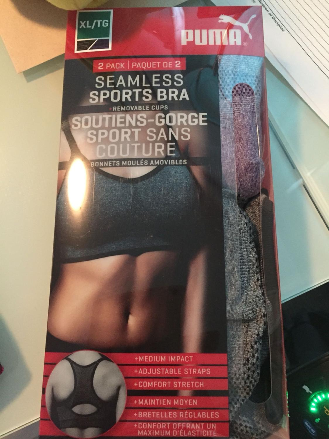 342b8173ec840 Find more Puma Sports Bras From Costco for sale at up to 90% off