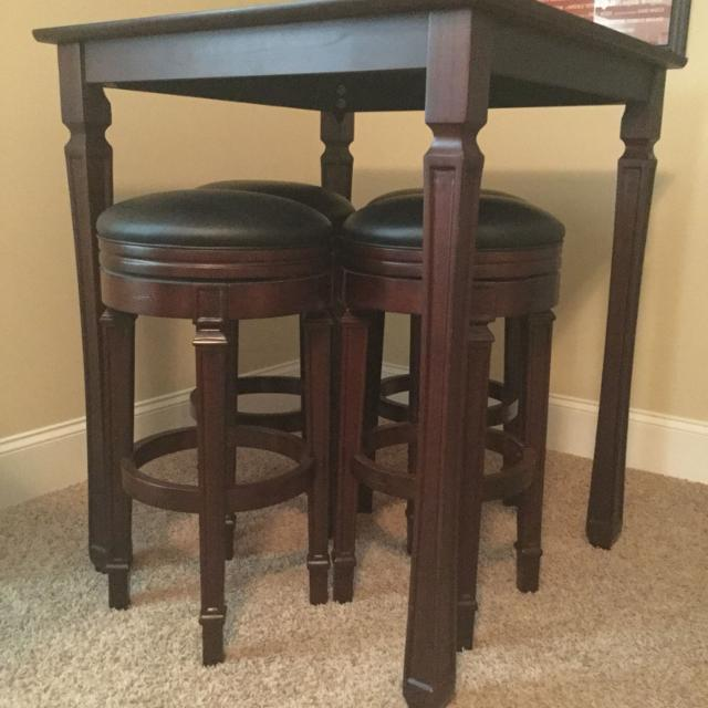 American Heritage Game Room Collection Pub Table