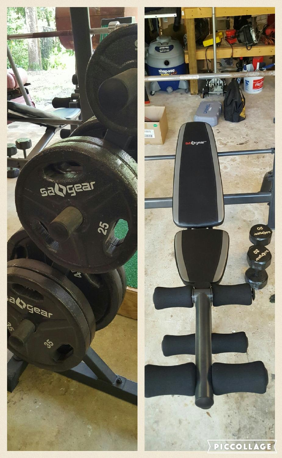 Find More Quot Reduced 200 00 Firm Quot Sa Gear Weight Bench And