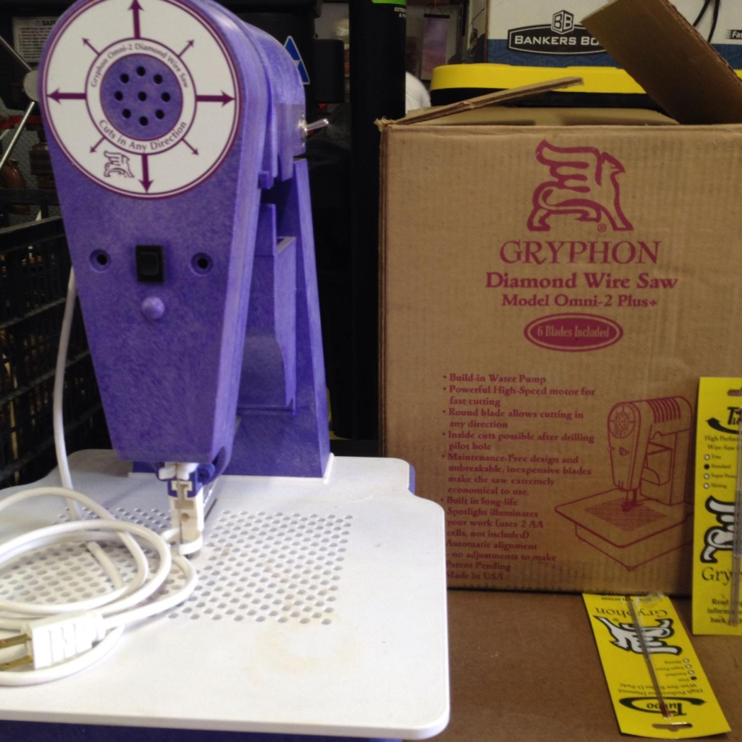 Find more Gryphon Diamond Wire Saw Model Omni-2 Plus Build In Water ...
