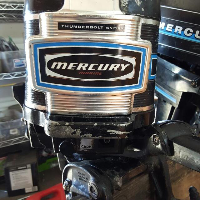 Best mercury 200 20hp boat motor for sale in mount dora for Best way to store an outboard motor