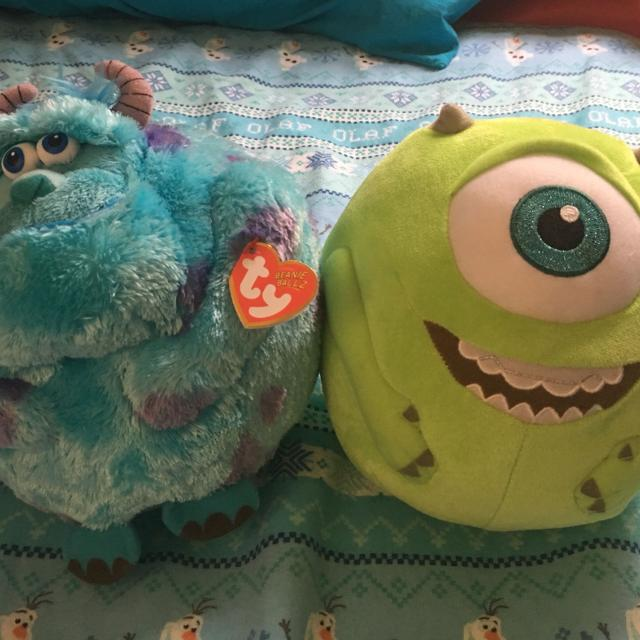 355e2803d36 Find more Large Mike And Sulley Ty Beanie Ballz for sale at up to 90 ...