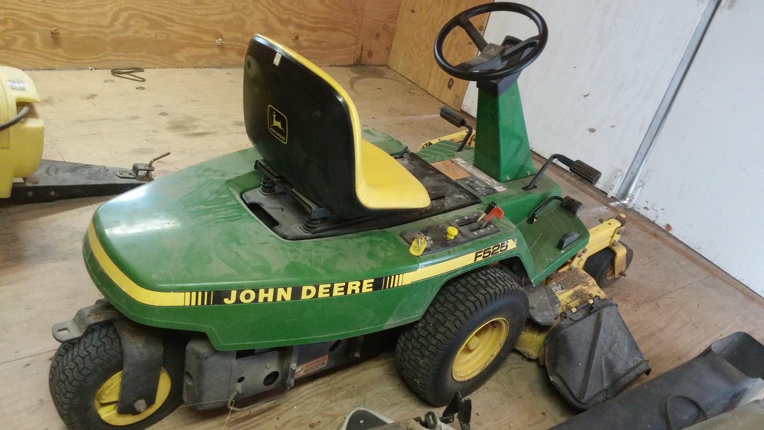 Find More John Deere F525 Mower With Attachments 1500