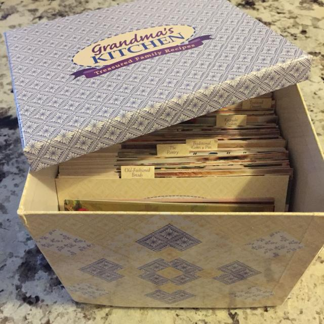 Best Two Grandma\'s Kitchen Recipe Cards $20 for sale in Burlington ...