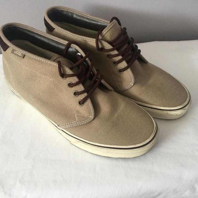 ccbc071f1a8 Find more Men s Chukka Vans Boot - Tan Canvas Us Size 9