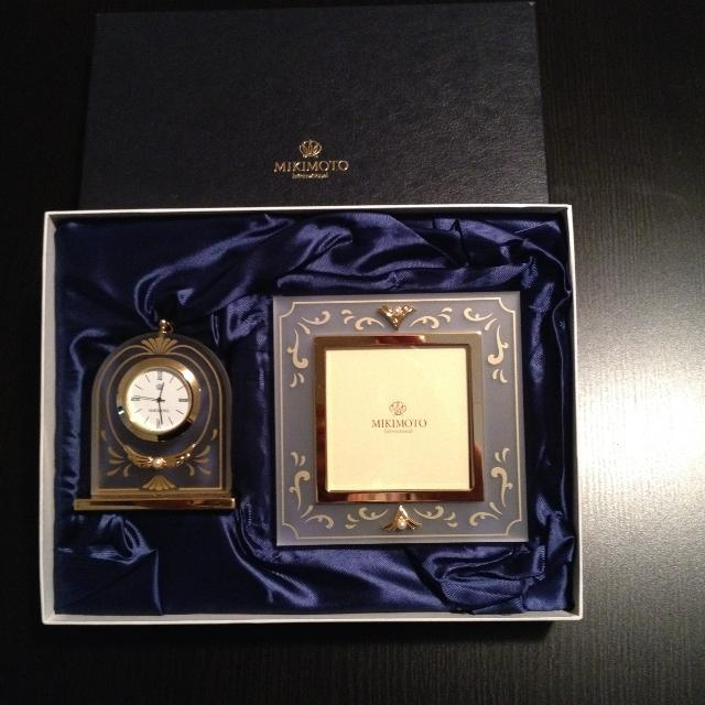 Find more Mikimoto Brand-picture Frame & Clock Set for sale at up to ...