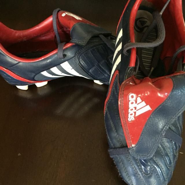 new arrivals 9f4aa f6197 Adidas soccer shoes size 5 12 . Asking 7