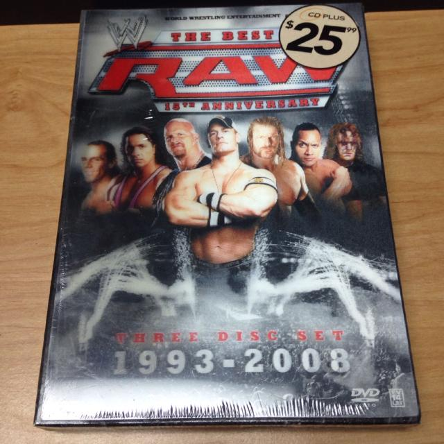 1993-2008 - The best of Raw 15th Anniversary 3 disc dvd