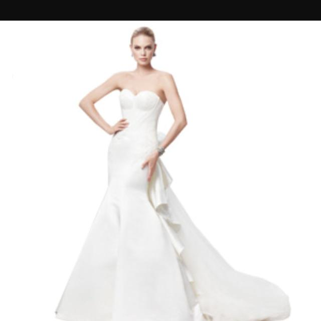 3d7d74ec78 Best Truly Zac Posen Wedding Dress In Size 8- 10 for sale in Scarborough
