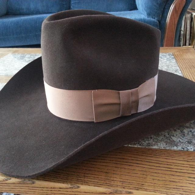 Find more Vintage Resistol Stagecoach Cowboy Hat for sale at up to ... dc78e0926caa