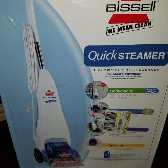 Find More Bissell Quick Steamer For Sale At Up To 90 Off