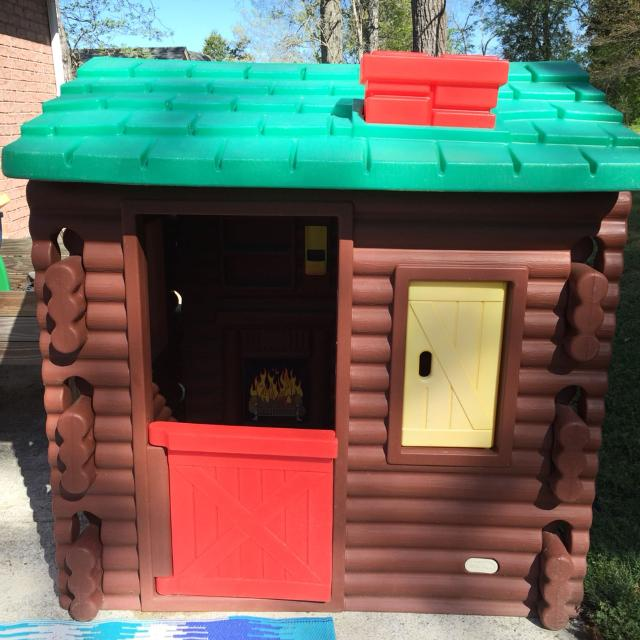 Find More Little Tikes Log Cabin Playhouse First Come First Serve