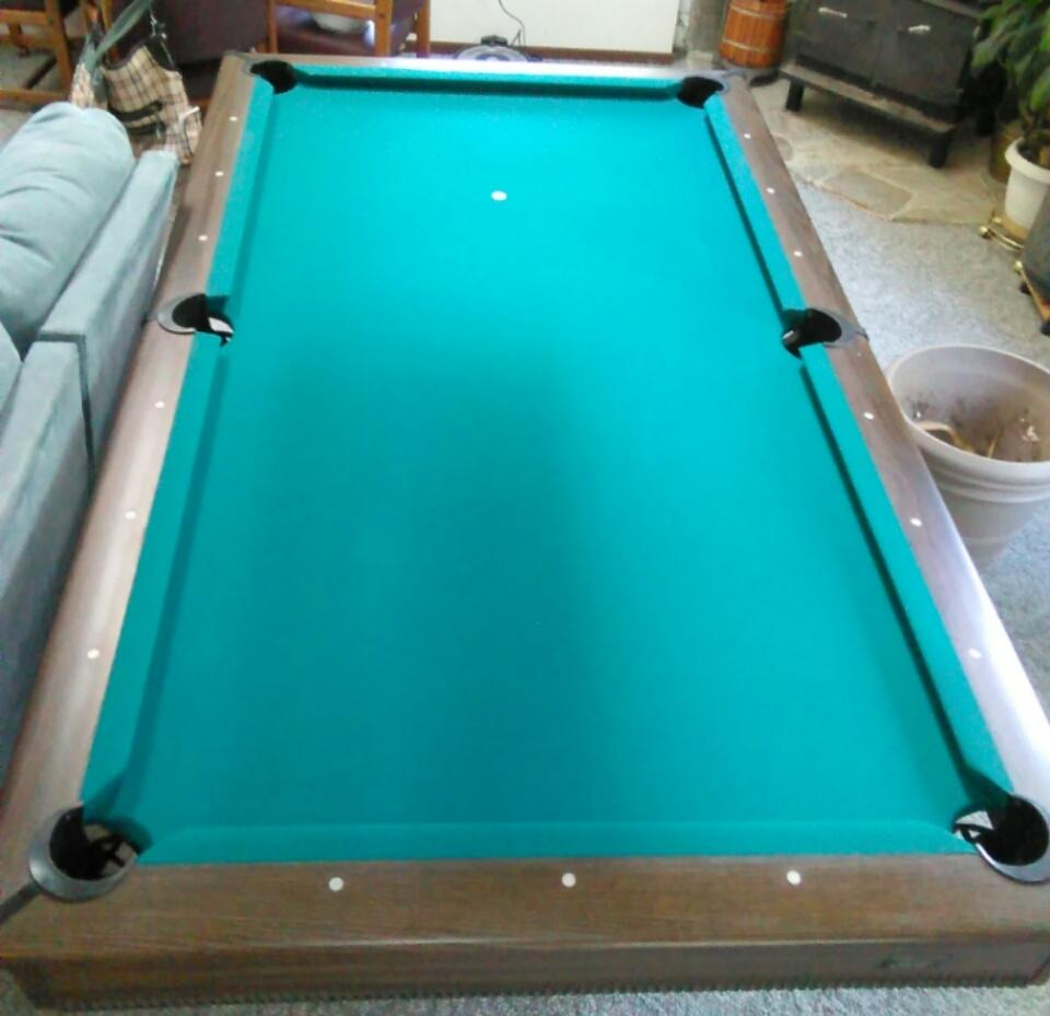 Find More 8 Foot Frederick Willys Pool Table, New Felt And