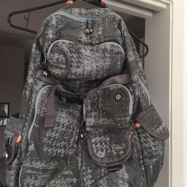 33d5317284 Find more Lululemon Camo Backpack for sale at up to 90% off
