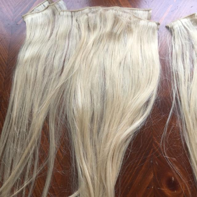 Best Blonde Hair Extensions From Sallys For Sale In Rochelle