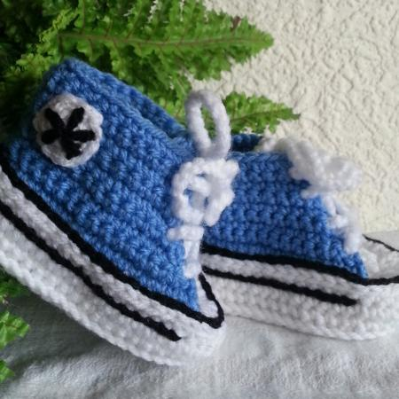 Crochet Baby Converse for sale  Canada