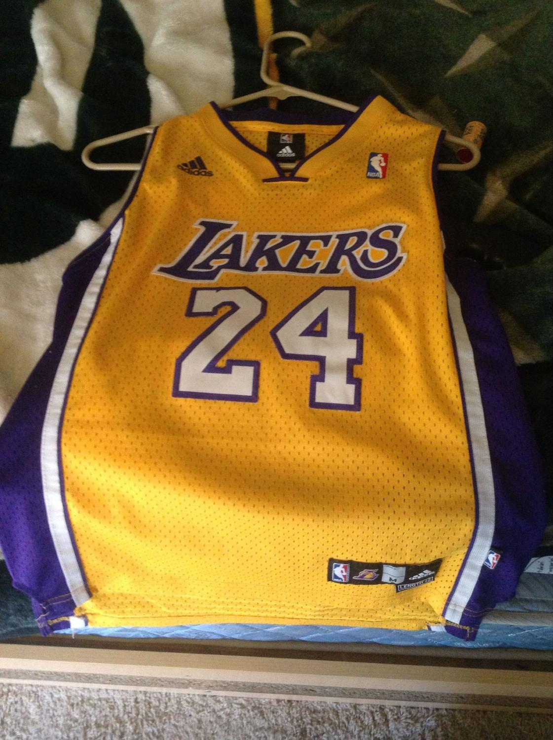 afde8c80e32 Best Adidas Lakers Kobe Bryant Jersey for sale in Surprise, Arizona for 2019
