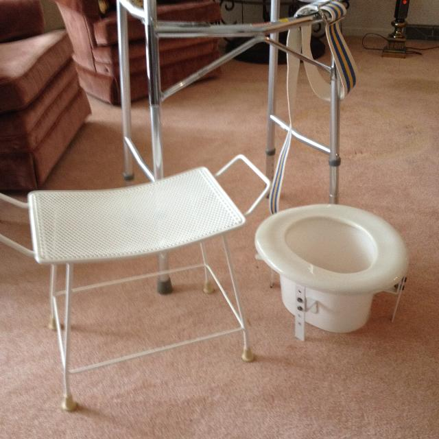Best Shower Chair, Walker And Commode Extender for sale in Kansas ...
