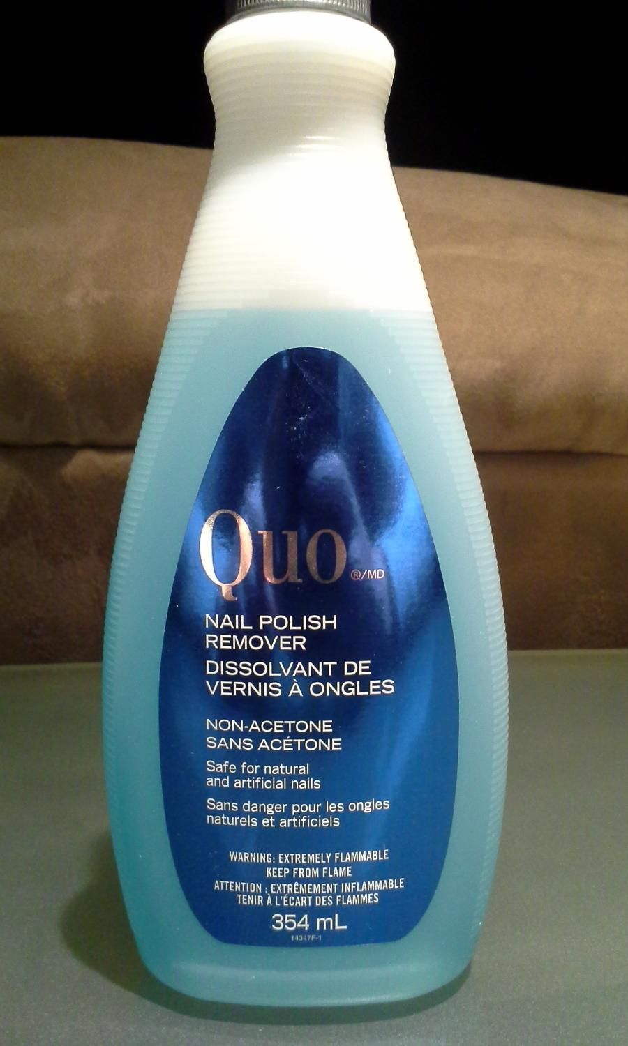 Find more Quo Nail Polish Remover Non Acetone for sale at up to 90% off