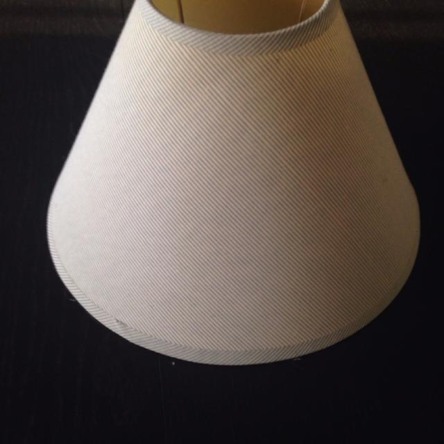 Blue And White Striped Lamp Shade 11 Inch Cirference