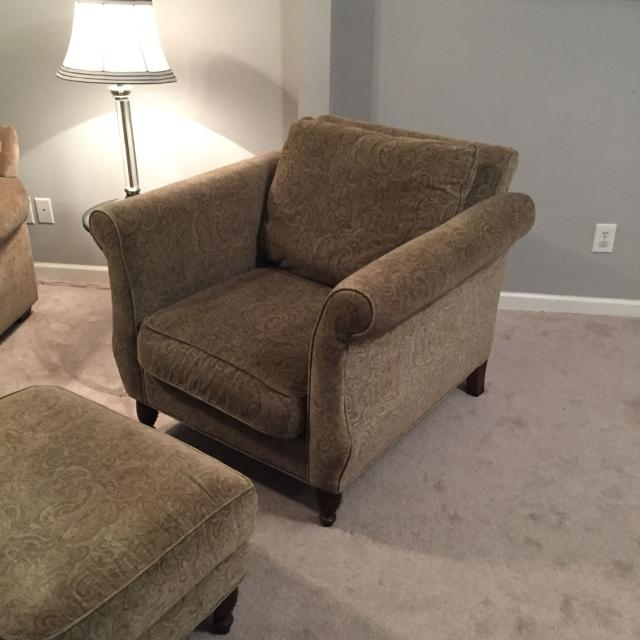 Find More Oversized Chair And Ottoman Brand Hickory Hill