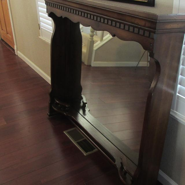 Vintage Vanity Dresser Mirror Large Repurpose Project