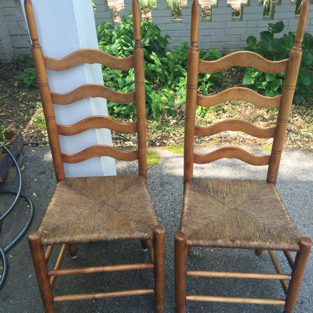 Antique ladder back chairs - Best Antique Ladder Back Chairs For Sale In Nashville, Tennessee For