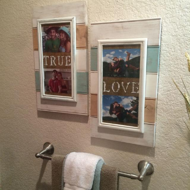 Find more Beach Themed Reclaimed Wood Frames. Sold As Set. for sale ...