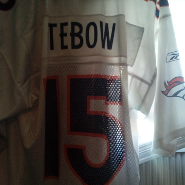 lowest price 877ff 312df Denver broncos Tim tebow jersey