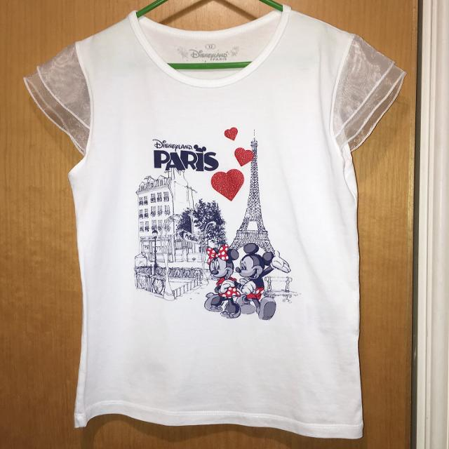 09e1fa3be Best Fit Age 10-11-12 As New Worn Once Disneyland Paris Red Glitter Heart  With Chiffon Sleeves Mickey Minnie Mouse T-shirt Top Rrp£12.50 for sale in  ...