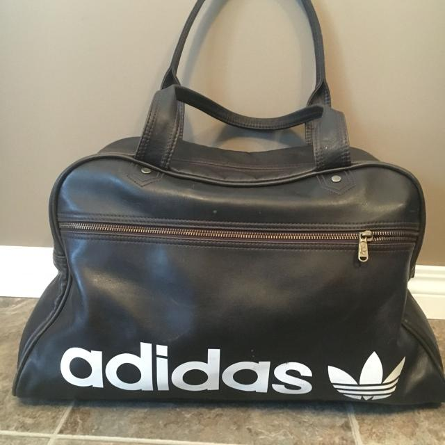 Find more Brown Leather Adidas Sports Duffle Bag.   price Reduced ... 77fd0d68446d3