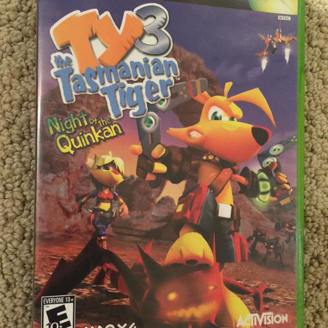Ty 3 the Tasmanian tiger - night of the Quickan- Xbox