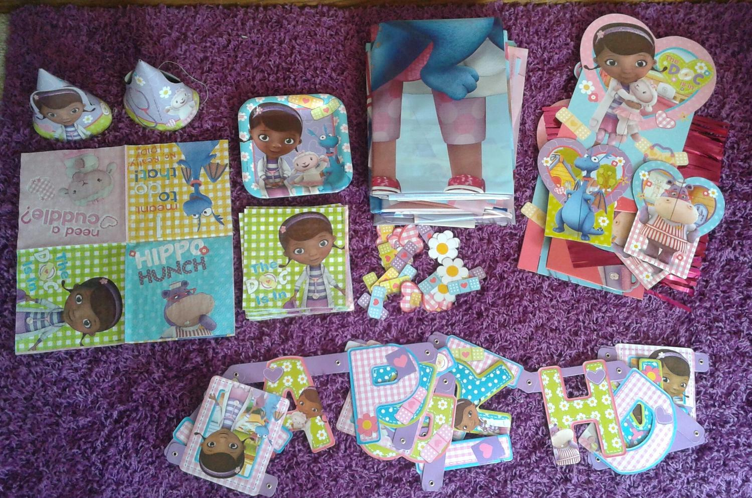 Find More Doc Mcstuffins Party Lot For Sale At Up To 90 Off