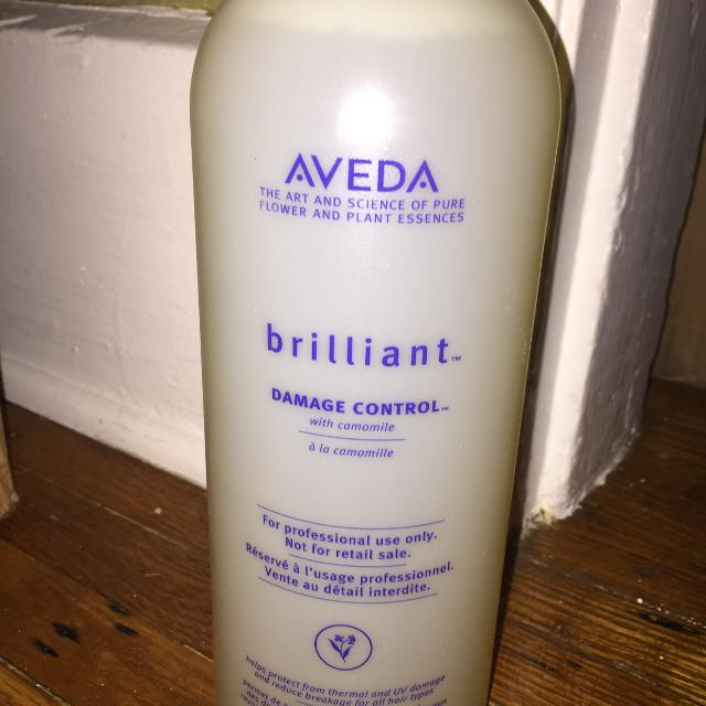REDUCED New Liter 33 8 fl oz Aveda Brilliant Damage Control Refill  Professional Size