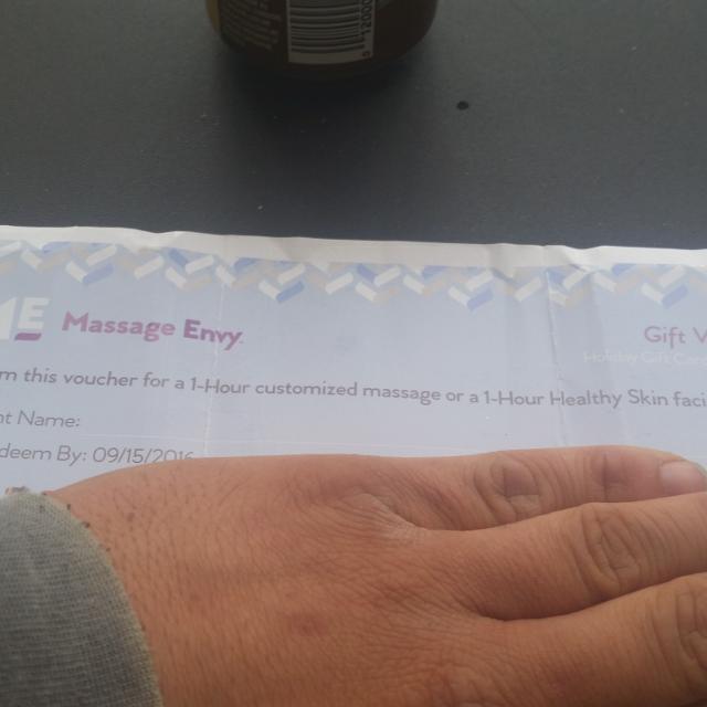 Best Massage Envy Gift Certificate for sale in Highlands Ranch ...