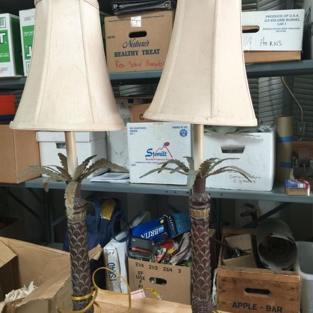 Beautiful Tommy Bahama Palm Tree Lamps Heavy Duty