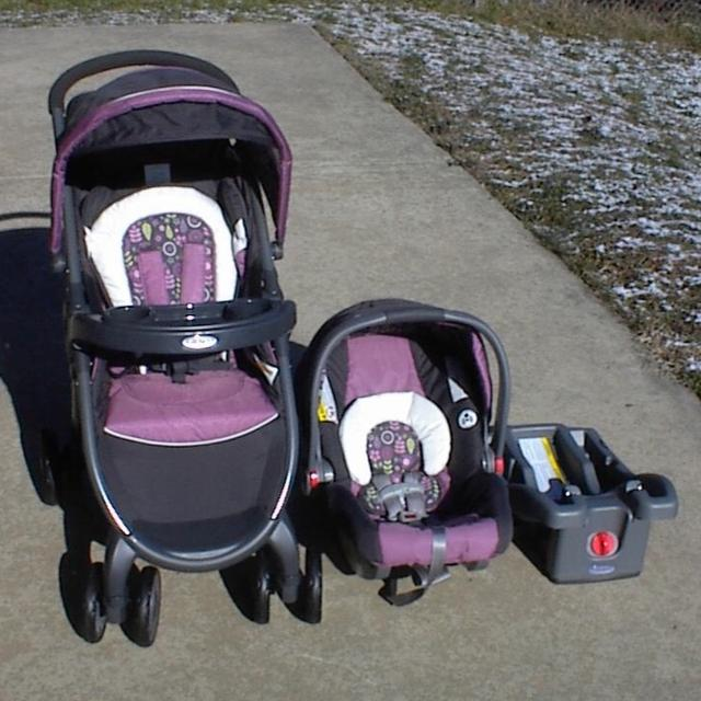 Graco Fastaction Fold Click Connect Travel System Alexis