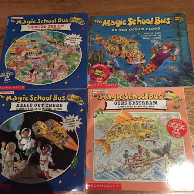 Find More Magic School Bus Pack 1 For Sale At Up To 90 Off