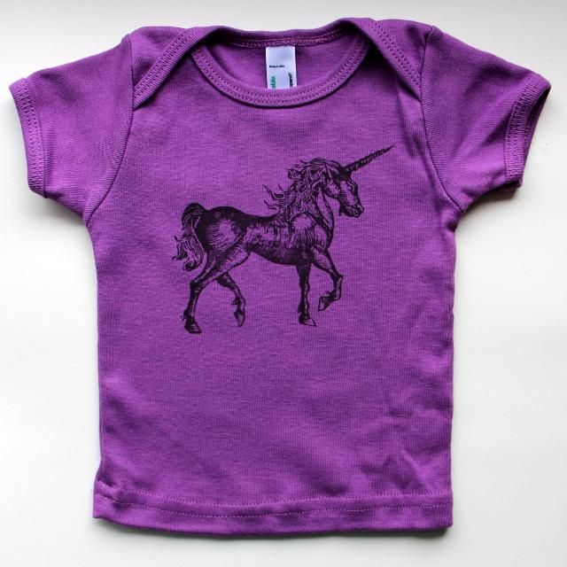 889338e5e92a Best 50% Off Unicorn Baby T Shirt 3-6 M - American Apparel Organic Baby  Short Sleeve Tshirt - Hand Printed Artwork - Unique Art for sale in  Victoria, ...