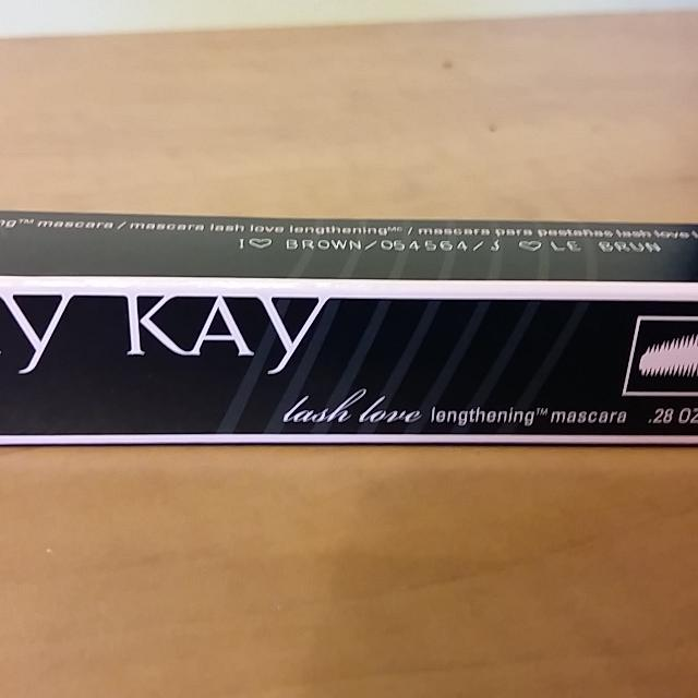 83baa9b14d7 Find more Brand New Mary Kay Lash Love Mascara (brown) for sale at ...